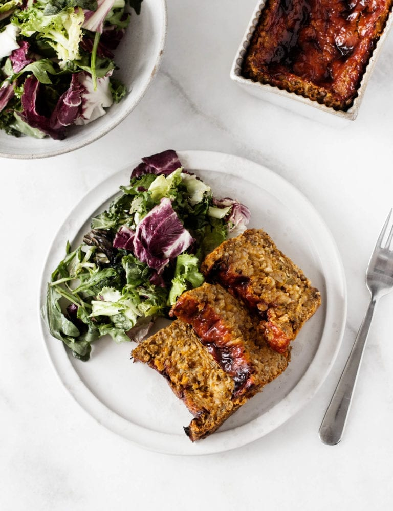 Lentil and Sweet Potato Loaf | The Full Helping