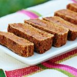 Raw Carrot Oat Bread