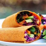 Raw Carrot Cumin Wraps