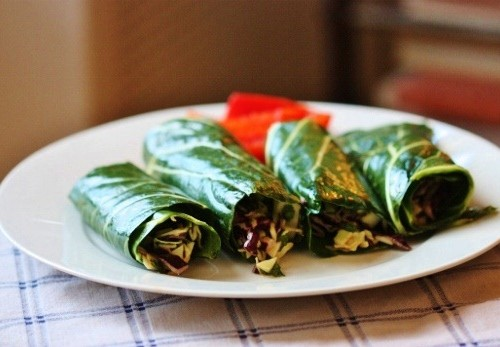 Peanut Cabbage Roll Ups