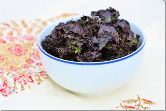 Raw Chocolate-Covered Kale Chips