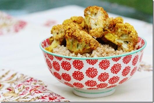 Raw Cauliflower Curry