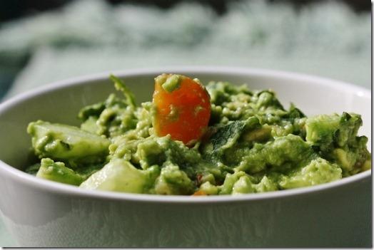 Tangy Potato Salad with Basil Chiffonade