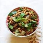 Hurry Up Vegan: Brown Lentil, Cucumber, and Mint Salad