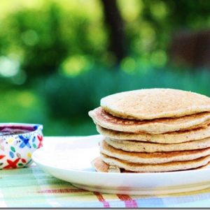 Recipe Re-Dos: Buckwheat Quinoa Pancakes with Pumpkin Cream OR Beet and Berry Sauce; Beet Granola