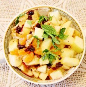 Raw, Vegan Charoset Recipe for Passover