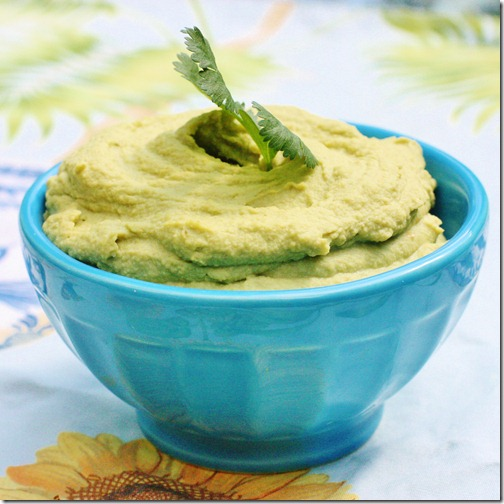 Zesty Cilantro Lovers Hummus