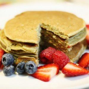 vegan protein pancakes