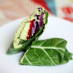 "Exam Express: Collard Wraps with Sweet Pea Hummus and Quinoa. And Is ""Strong"" the New ""Skinny""?"