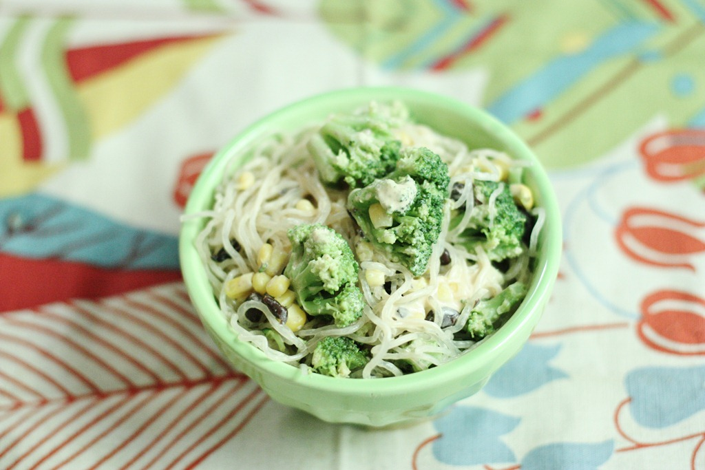 Smoky Southwestern Kelp Noodle Bowl with Black Beans and ...