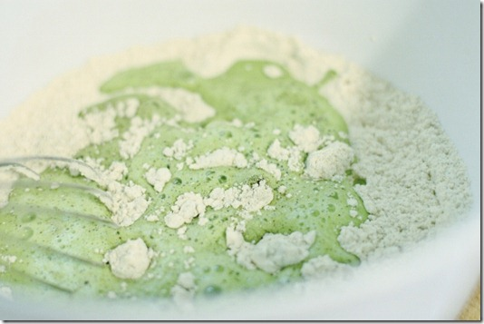 how to cook greens pancake shake