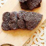 Raw Dark Chocolate and Cherry Cookies