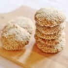 vegan sesame cookies