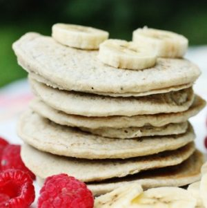 Gluten free hemp pancakes