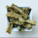 "Raw, Vegan ""Baked"" Zucchini Sticks"