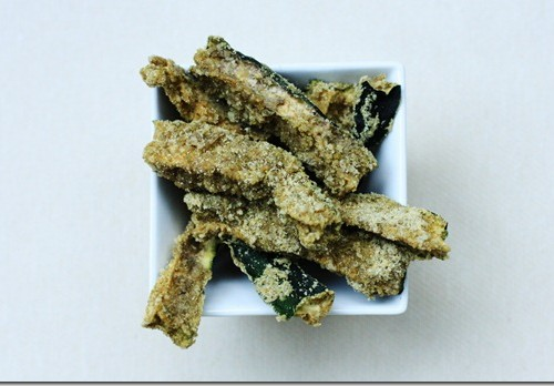 raw vegan zucchini sticks