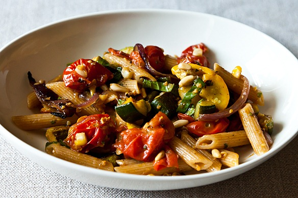 """""""When a Vegan Comes to Dinner"""": Penne with Sweet Summer ..."""