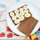 raw banana oat bread