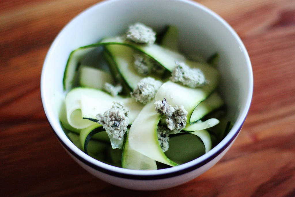 Raw foods how to zucchini tagliatelle with a recipe the full img2515 forumfinder Choice Image