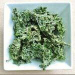 Omega-3 Rich Roasted Garlic Hemp Kale Chips