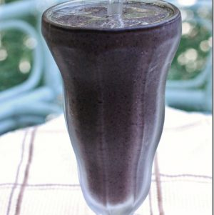 blueberry hemp shake