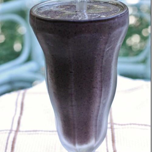 blueberry hemp shake