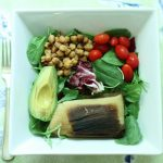 Reuse and Recycle: Toasted Chickpea Lunch Salads