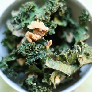Banana Walnut Kale Chips