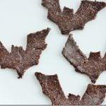 Going Batty: Raw Walnut, Carob, and Cinnamon Cookies for Halloween