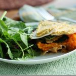 Butternut Squash and Garlicky Kale Lasagna with Brazil Nut Cheese