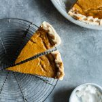 Perfect Vegan Pumpkin Pie.