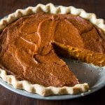 Perfect Vegan Pumpkin Pie.