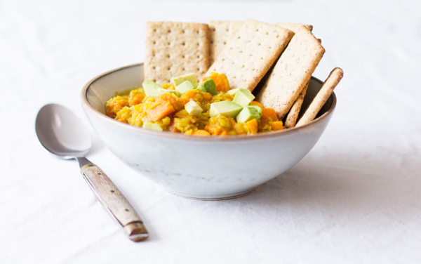 Easy Curried Yellow Lentils   The Full Helping