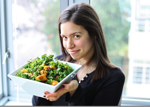 kabocha goji salad