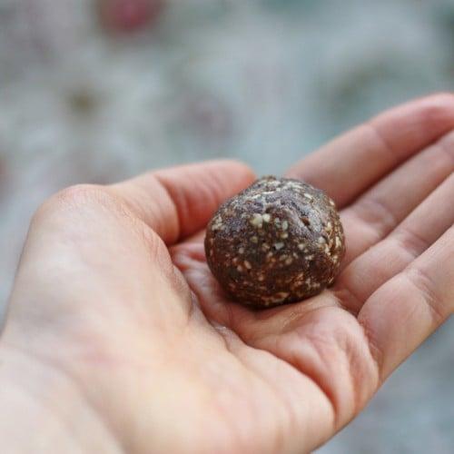 raw snack balls