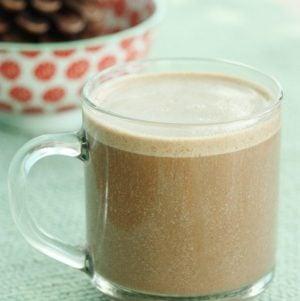 Raw, Vegan Chai Spiced Hot Chocolate