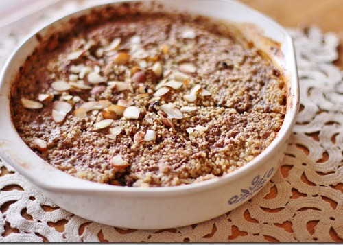 almond quinoa bake