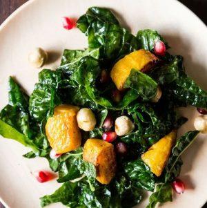 kale kabocha salad