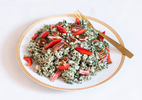 New Years Hoppin John Salad | The Full Helping