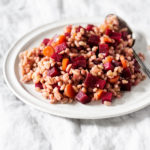 Farro Salad with Beets and Carrots