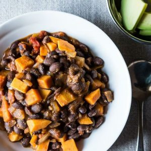 Amazing Sweet Potato and Black Bean Chili