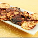 Raw, Vegan Barbeque Zucchini Chips
