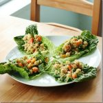 Hurry Up Vegan: Confetti Quinoa and Chickpea Lettuce Wraps