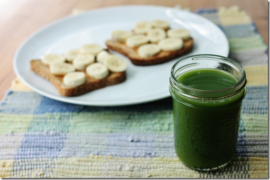 how to green juice in a vitamix