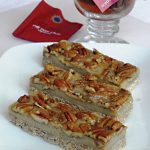 Raw Pecan Chai Bars from Amber Shea Crawley's Practically Raw Desserts