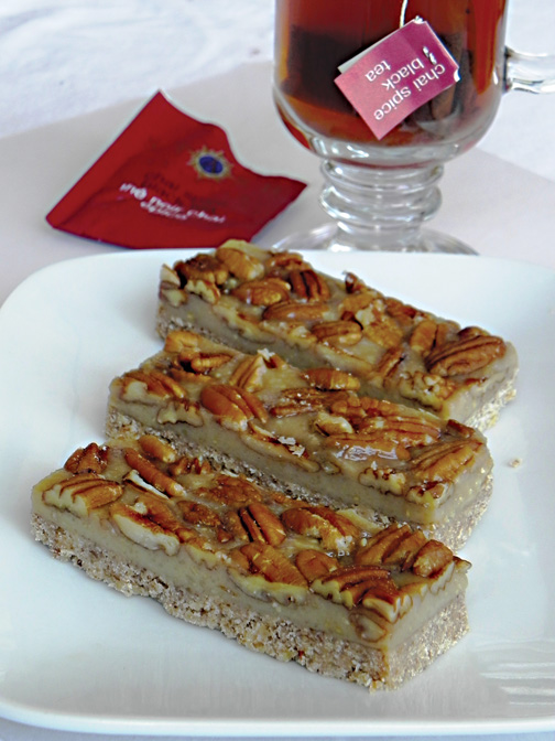 Pecan-Chai-Bars amber crawley