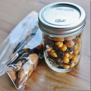 My Favorite Snack: Almonds, Roast Chickpeas, and Raisins. Simple Vegan Eats.