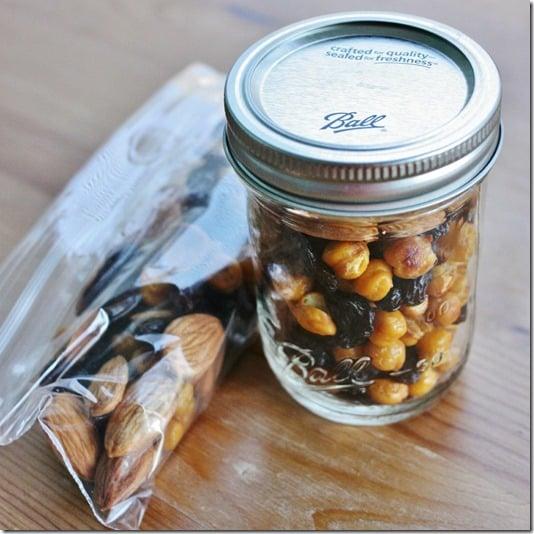 chickpea raisin almond trail mix