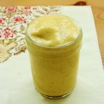 Vegan Mango Lassi. A Creamy Warm Weather Treat!