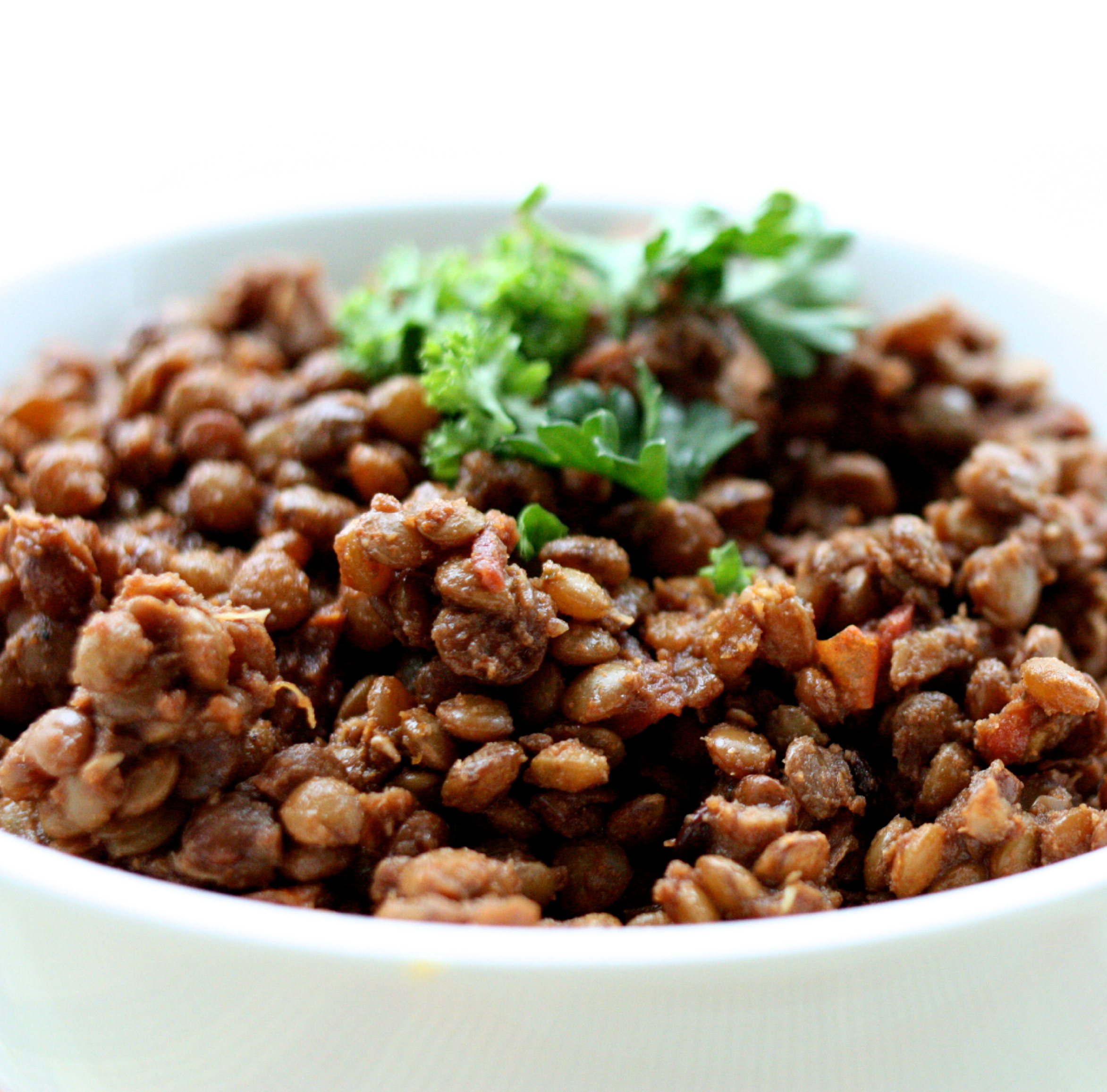 Savory spiced tamarind lentils | The Full Helping